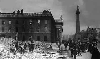 O'Connell street Dublin in 1916