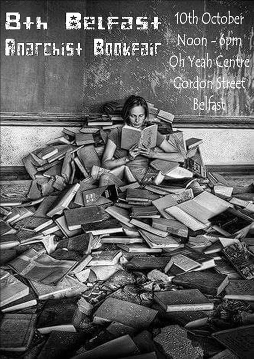 poster for 8th Belfast Anarchist Bookfair 2015
