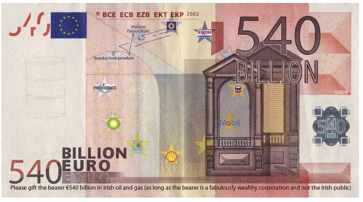 €540Billion note