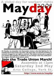 Previous Belfast mayday poster from 2009