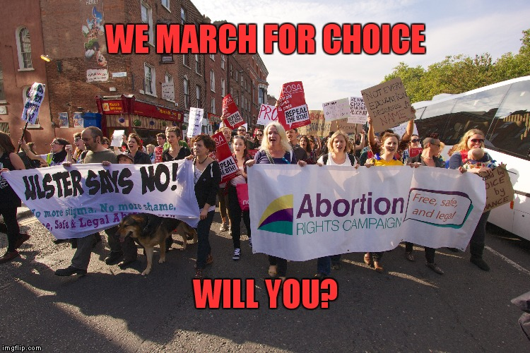 Reasons to March for Choice this September